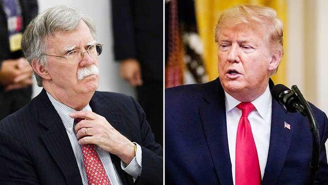 Trump calls John Bolton a 'traitor', wants to block his book