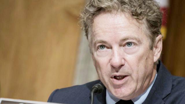 Sen. Rand Paul, who opposed coronavirus relief bill, tests positive
