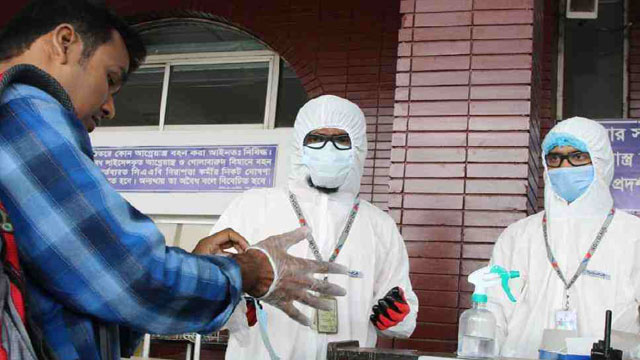 Bangladesh reports highest 2911 coronavirus cases in a day