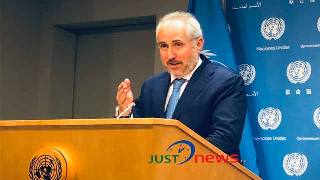 UN continuing efforts to protect Rohingyas amidst flooding: Dujarric