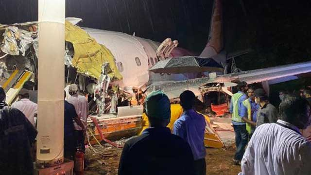 16 dead after Air India plane breaks in two in Kerala