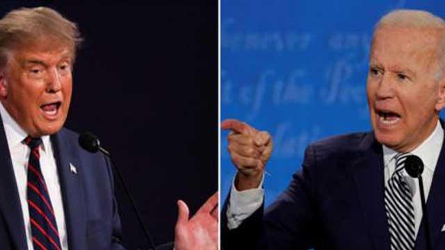 Trump and Biden duel in chaotic, bitter debate