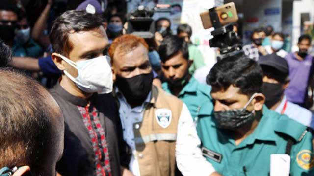 Ex-SP Babul sent to jail after five-day remand