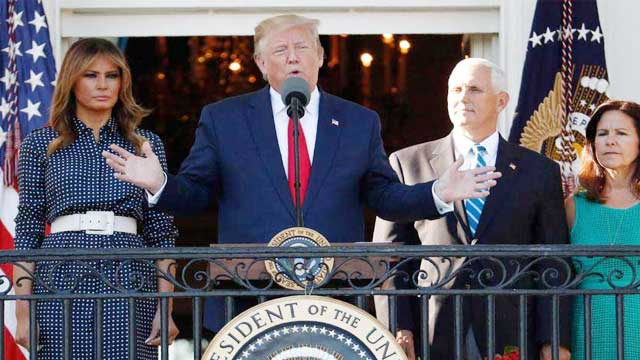 Surprise question about Pence led him to hesitate: Trump