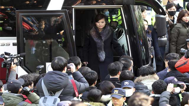 N Korea delegates arrive in Seoul for pre-Olympics inspection