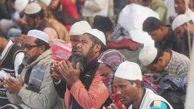 Second phase of Bishwa Ijtema ends with Akheri Munajat