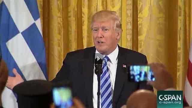Trump's remarks on Greek Independence Day celebration