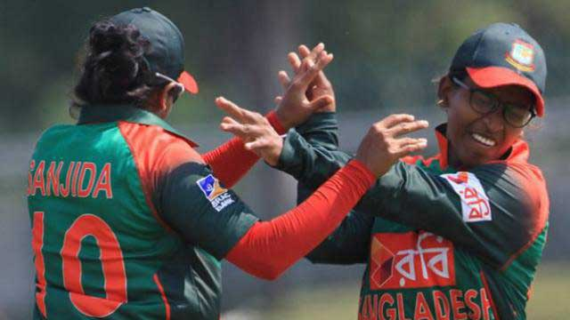 Bangladesh women rout India
