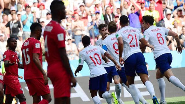 Hattrick Kane leads England into last 16