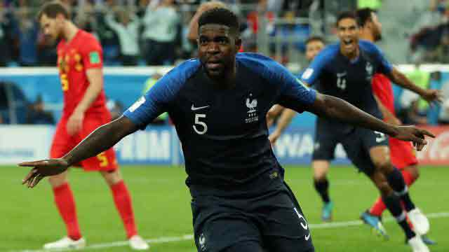 Umtiti header sends France into World Cup final