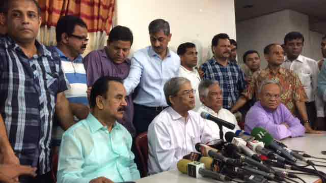 Govt conspiring to link BNP to student movement: BNP
