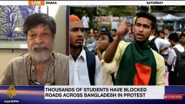 Photographer Shahidul Alam detained after post about Dhaka protests