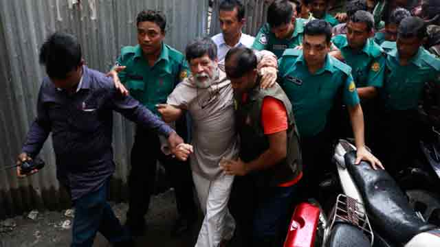 Photographer Shahidul dropped from remand abruptly