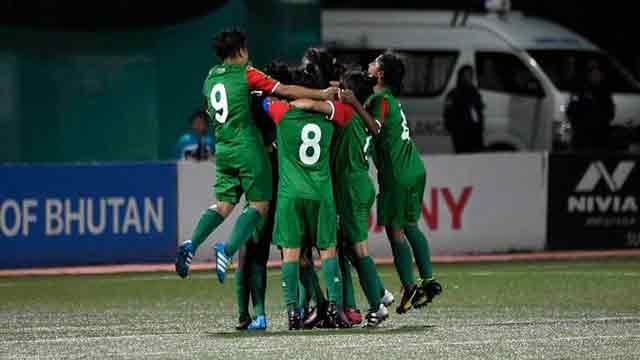 Bangladesh girls beat Nepal 3-0