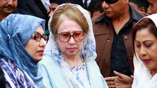 Khaleda Zia urges countrymen to get united for democracy