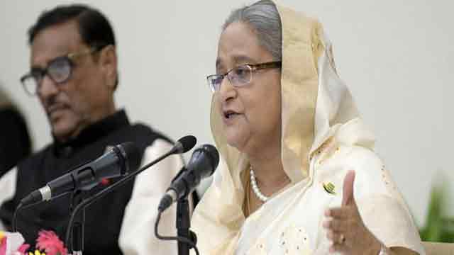 No hurry to use EVM, says Hasina