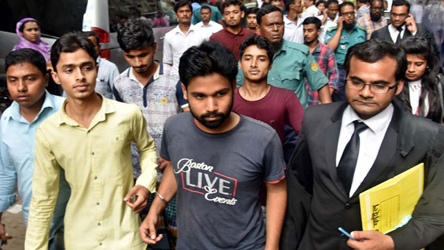 12 road safety protesters taken on remand