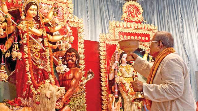 Durga Puja ends today