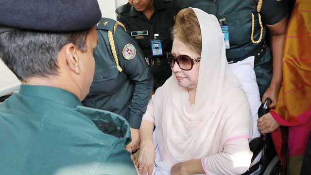 Khaleda Zia declines health check at BSMMU