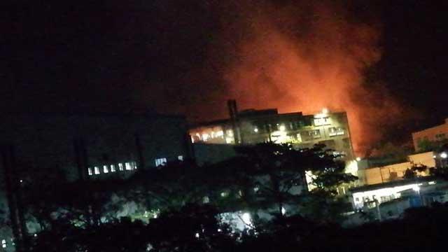 Fire burns spinning mill in Cumilla EPZ