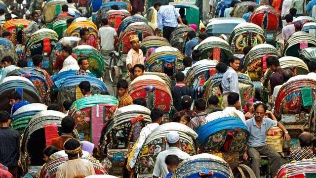 No rickshaw on three Dhaka routes