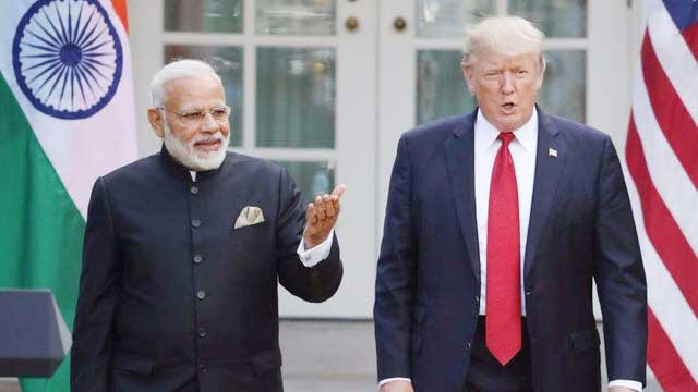 Trump speaks with Modi amid India-Pakistan tensions