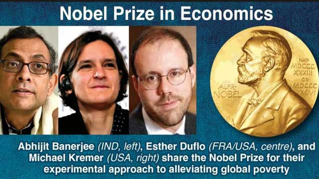 Bangali economist, 2 others win Nobel Economics Prize