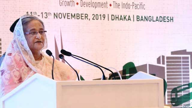 Rohingyas a threat to national, regional security: Hasina