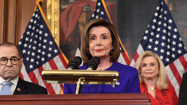 Democrats introduce two formal charges