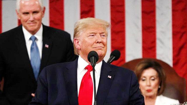 State of the Union: Trump hails 'American comeback'