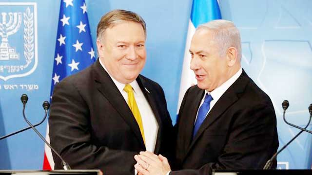 Pompeo arrives in Israel for talks on Iran, annexation plans