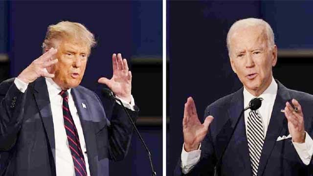 Trump vows not to participate in virtual debate with Biden