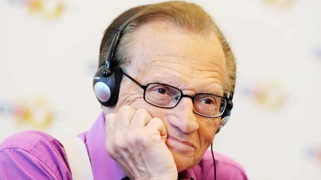 Veteran US talk show host Larry King dies