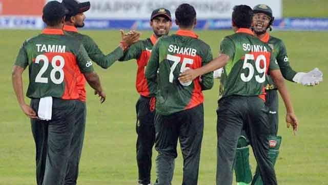 Liton, Shakib script easy win for Tigers