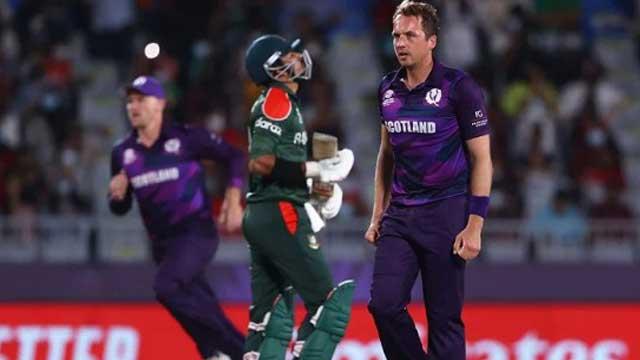 Scotland beat Bangladesh by 6 runs