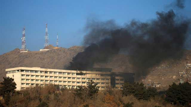 Five dead in Kabul hotel attack