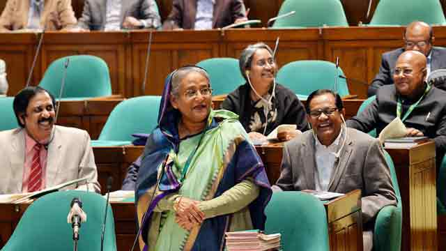 Hasina calls civil society 'dustbin of politics'