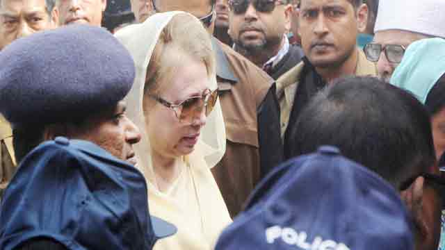 People to free Khaleda Zia, says BNP