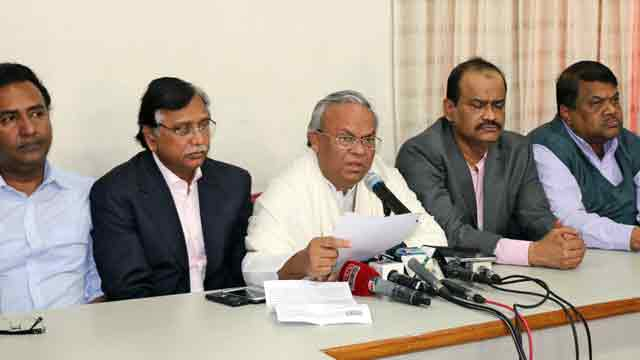 BNP blasts Shahriar's statement, calls it all lies