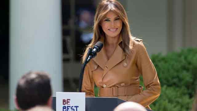 Melania Trump announces BE BEST