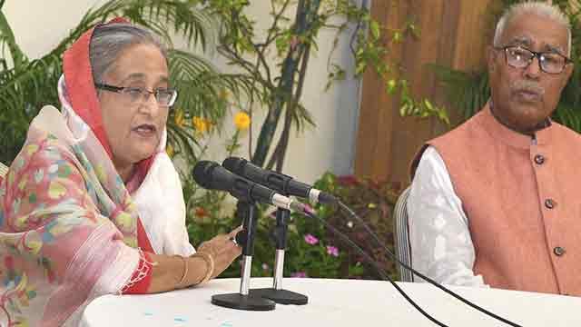 Hasina talks tough against drugs