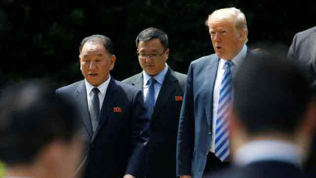 Trump confirms summit date with N Korea's Kim
