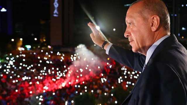 Erdogan wins re-election as president
