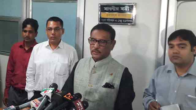 Road transport act to be placed before cabinet next week: Quader