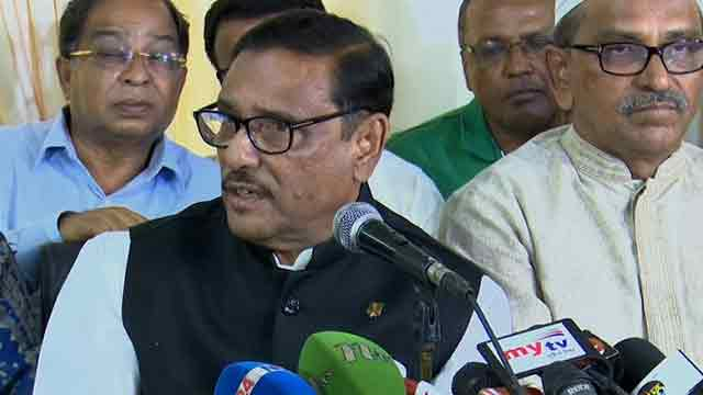 A minister cannot decide polls date: Quader