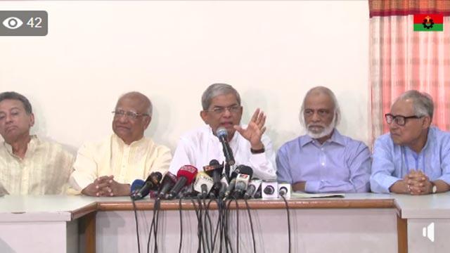 Govt out to kill Khaleda in jail, alleges BNP