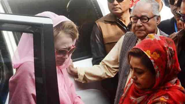 BNP wants to meet home minister over Khaleda Zia's health issue