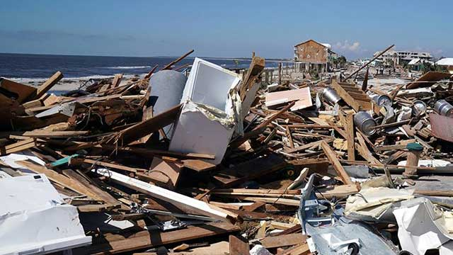 Search teams comb debris for victims of deadly Hurricane Michael, 6 killed