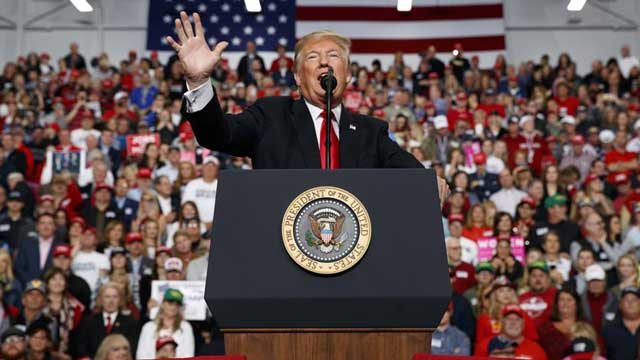 Trump hails 'big victory'