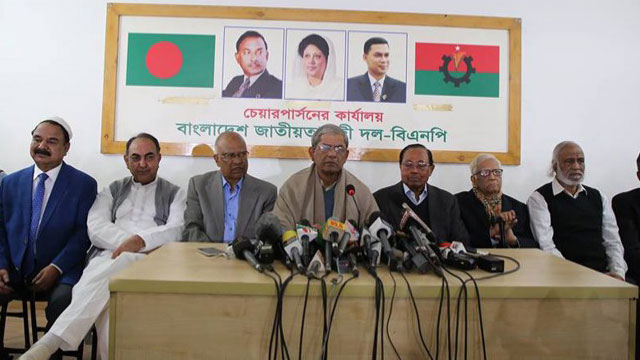 BNP rejects polls result, calls for re-election
